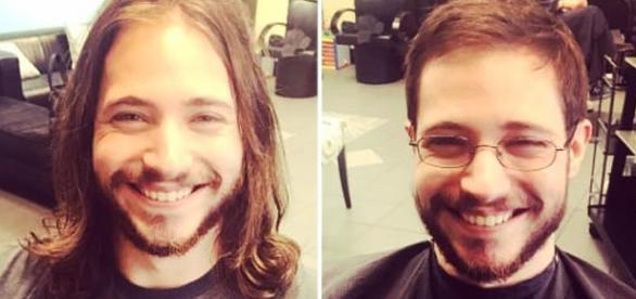 Um simples corte de cabelo faz toda a diferença