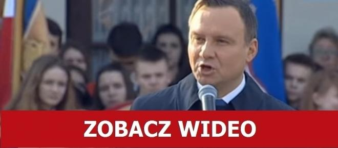 Prezydent Duda ZMIAŻDŻYŁ OSZUSTÓW opychających za bezcen polskie spółki! [WIDEO]