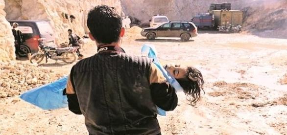 Ataque com armas químicas na Síria
