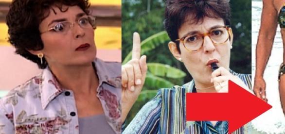 Dona Wilma está bem diferente - Google