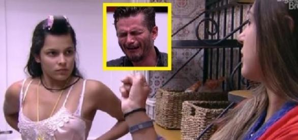 Marcos troca olhares com Vivian e enfurece Emilly