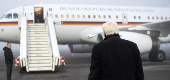 Präsident Steinmeier fliegt am Freitag nach Athen. (Source URG Suisse Blasting.News Archive)