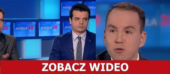 Andruszkiewicz ROZNIÓSŁ KODziarzy w TVP! 'Nie wiedzieli co mają mówić' [WIDEO]