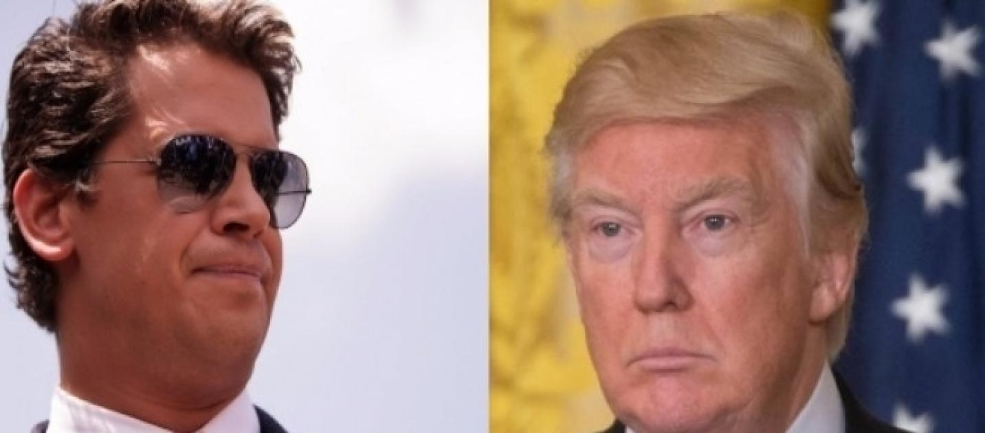 Milo Yiannopoulos abandons Donald Trump over Syria attack in ...