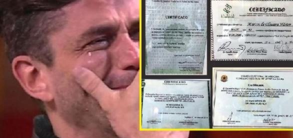 Colunista diz que Marcos não é especializado em cirurgia plástica e sócia do médico diz que vai processar