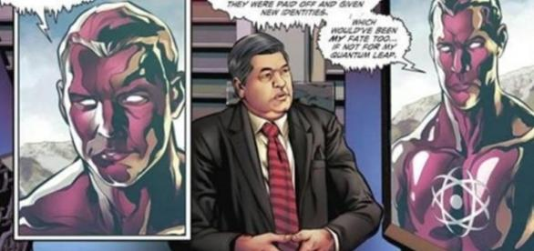 Datena vira personagem de quadrinhos da DC Comics nos Estados Unidos. Foto: Reprodução/DC Comics.