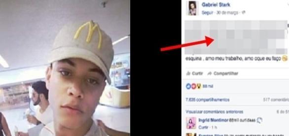 Esse jovem mostrou para todo mundo que é ótimo trabalhar no McDonald's