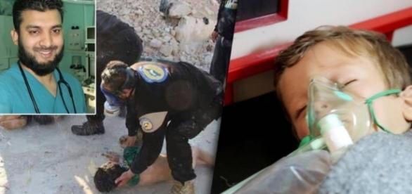 "Giftgas-Angriff in Syrien: Erneute Bombardierung - Augenzeuge: ""Es ... - bild.de"