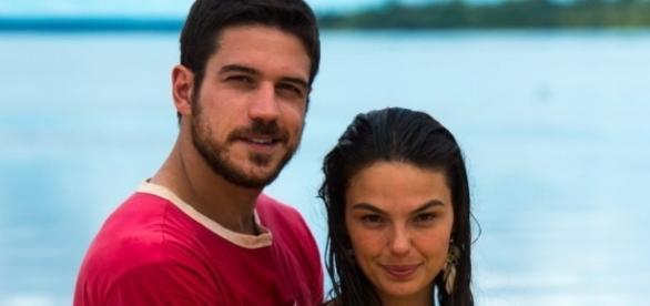 Imagem: Marco Pigossi e Isis Valverde em 'A Lei do Amor'