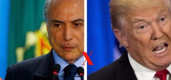 "Michel Temer e Donald Trump - Uma dupla do ""Terror"""