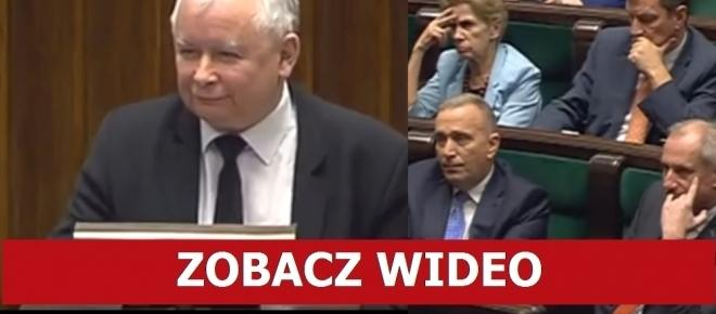 Posłowie PiS zaryczeli ze ŚMIECHU po TYM, co powiedział Kaczyński! [WIDEO]