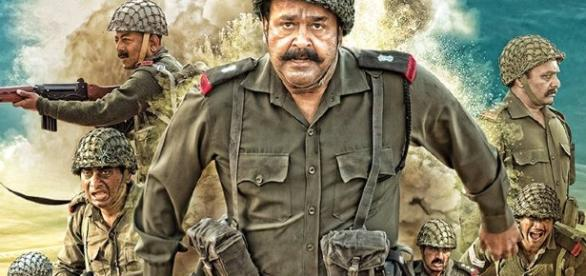 A still from Mohanlal's '1971 Beyond Borders' movie