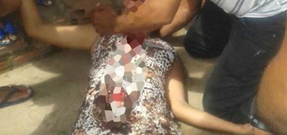 A vítima foi socorrida, mas morreu no hospital