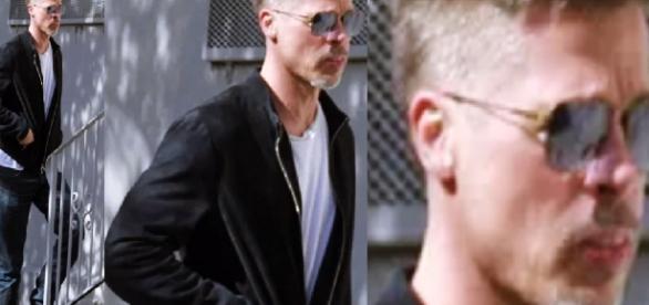 Brad Pitt aparece magro demais - Google
