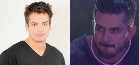 Leo Dias acusou Marcos de cometer furto em hospital e será processado (Foto: Reprodução)