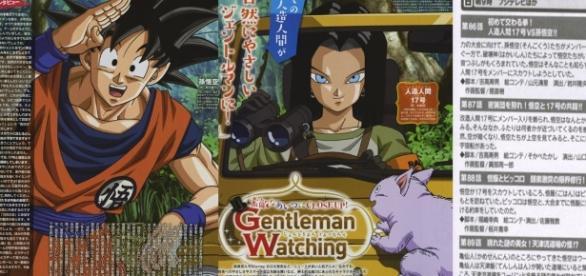 Scan de la revista Animedia y títulos de los proximos episodios