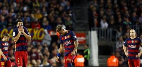Desperdicia el barcelona oportunidad de oro.