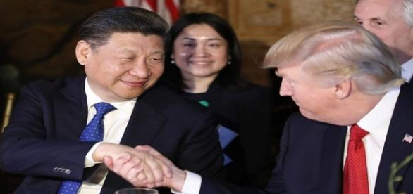 Donald Trump meets Xi Jingping (washingtontimes.com)