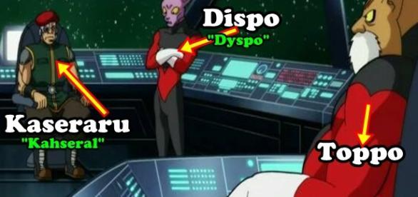 Dragón Ball Súper: Dispo, Kaseraru y Toppo, Universo 11