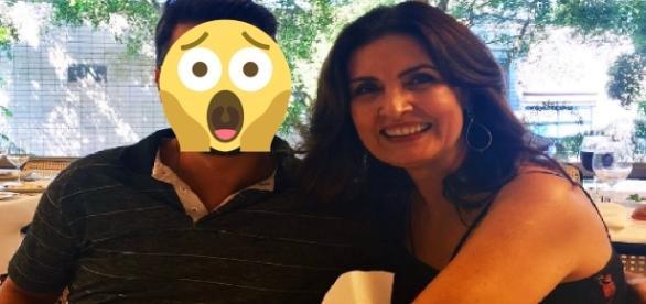 Fátima Bernardes e produtor polemizam - Google