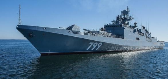 Russia to Resume 3rd Admiral Grigorovich-Class Frigate Trials / Photo by sputniknews.com via Blasting News library