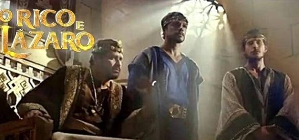 Zedequias e os filhos ainda tentam fugir em 'O Rico e Lázaro'