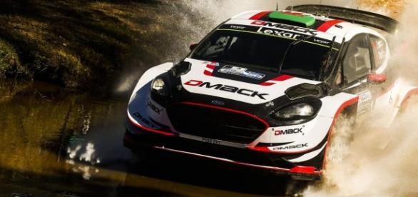 el piloto de Ford ha ganado seis pruebas de velocidad consecutivas