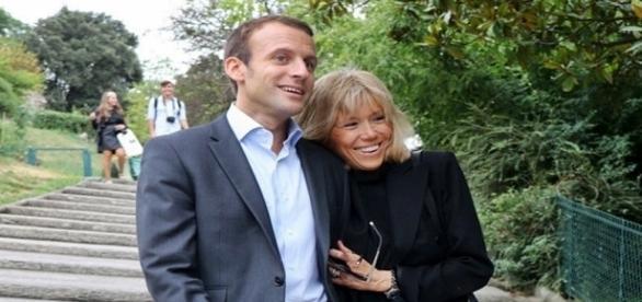 Macron e Brigitte: o casal improvável