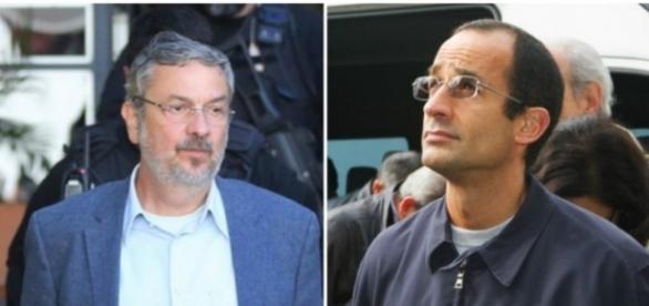 Marcelo Odebrecht aconselha Antonio Palocci, na cadeia