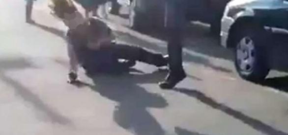Mulher foi brutalmente atacada