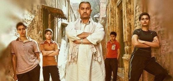 A still from Aamir Khan's 'Dangal' movie