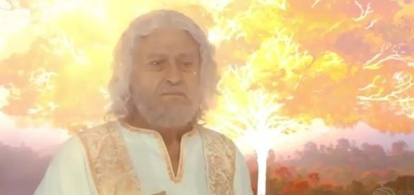Ator Paulo Gorgulho interpreta o pai Abraão em 'O Rico e Lázaro'