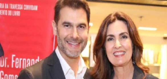 Fátima Bernardes posa com médico apontado como affair - Google