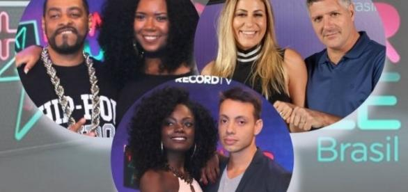"Finalistas da segunda temporada do ""Power Couple Brasil"""