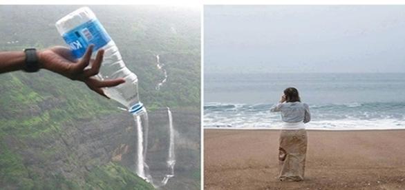 Fotografias criativas usando o ângulo
