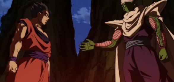 Gohan y Piccolo en el episodio 88