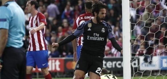 Isco definió la eliminatoria con su gol al minuto 42. Mundo Deportivo.com.