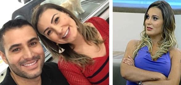 Andressa Urach anuncia separação após 7 meses de relacionamento