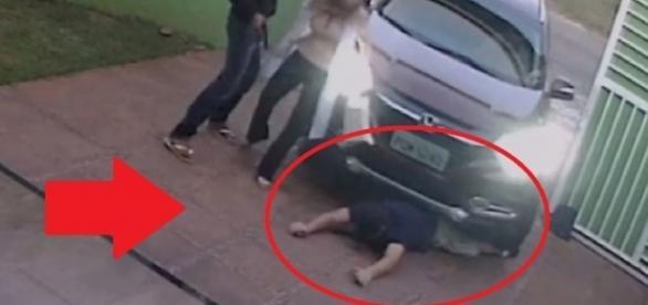 Pai de família é atropelado por bandidos - Google