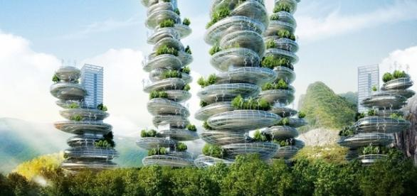 Vertical farming is a futuristic project to feed the world.