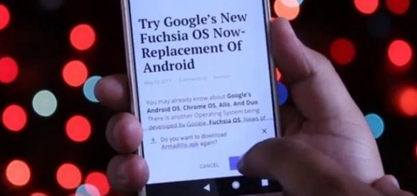 Google's Fuchsia OS, Youtube, Passion Labz channel https://www.youtube.com/watch?v=9rS3OKP5dE0