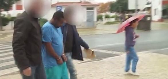 Ibrahim Salem comeceu o crime. Imagem: Correio da Manhã