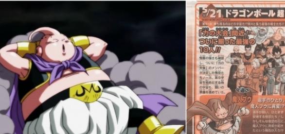 Majin Boo se queda dormido en el episodio 91
