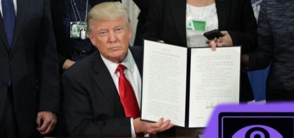 Trump assina ordem executiva para aumentar a eficiência da segurança cibernética do país