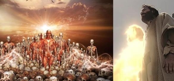 Deus mostra um visão do Vale para o profeta Ezequiel