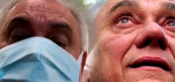 Marcelo Rezende, que estava internado no Hospital Albert Einstein, após sentir fortes dores no abdômen, recebeu alta e fala sobre a doença