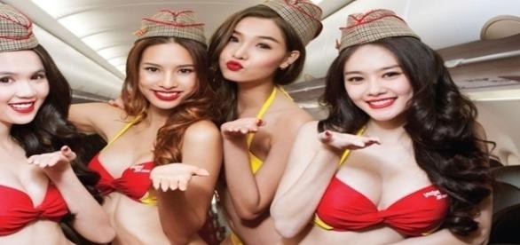 Conheça as diferentes comissárias aéreas do Vietnã