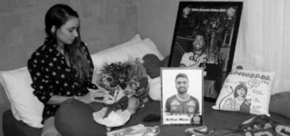 Dor da perda da Chapecoense é muito forte - Foto/Instagram