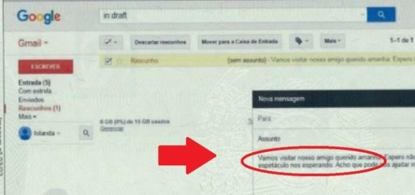 E-mail bomba de Dilma - Foto/Reprodução: Internet