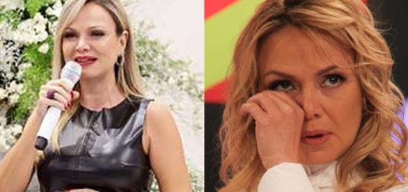 Eliana caiu no choro durante gravação quando falou sobre o filho
